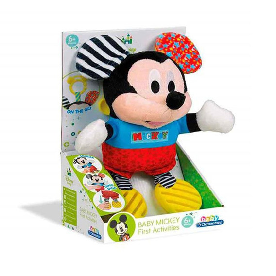Pelúcia Clementoni Personagens Disney Baby Mickey Multilaser