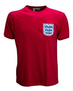 Camisa Retro Inglaterra 1966 Campeã Da Copa/66 Ligaretro