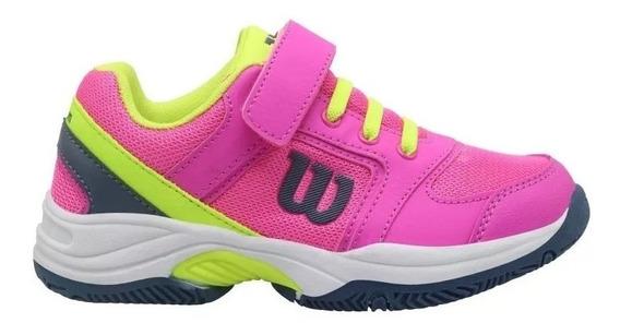 Zapatillas Wilson Set Niña Tenis Padel