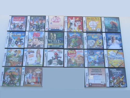 Lote X22 Juegos Originales Para Nintendo Ds