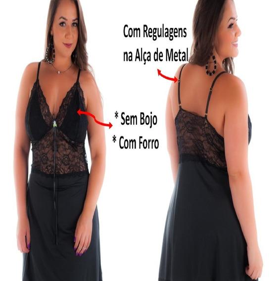 Camisola Sensual Plus Size Em Renda Moda Intima Lingerie Sex