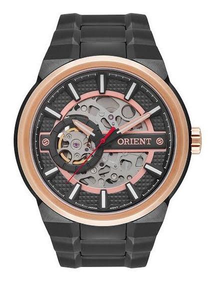 Relógio Orient Automático Nh7yr001 Esqueleto Modelo Novo