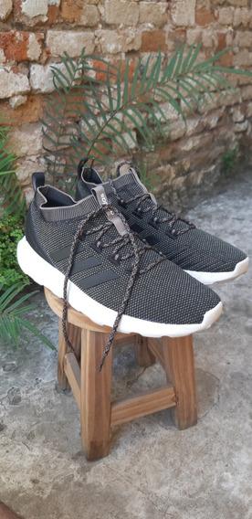 Zapatillas adidas Questar Rise Verde-negro Talle 42