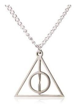 Colar Reliquias Da Morte - Harry Potter