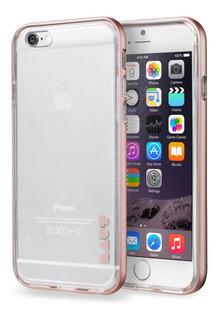 Capa Prot. Exo Frame Dourada C/película iPhone 6/6s (apple)