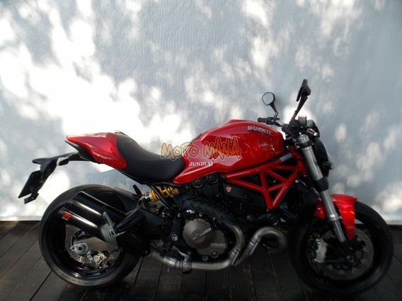 Monster 821 2015 Vermelha