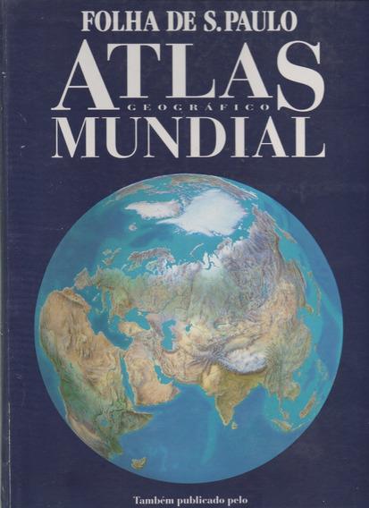Atlas Geográfico Mundial Folha De São Paulo Não Encadernado