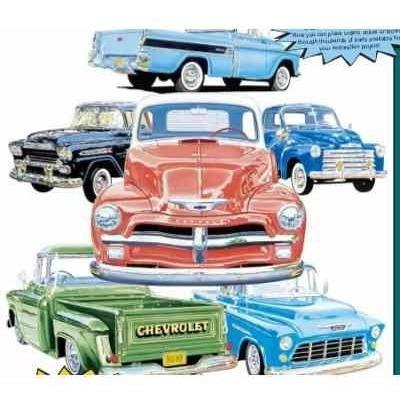 Manual De Despiece Chevrolet Pick Up 47 Al 59 En Pdf