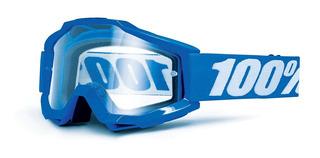 Antiparra 100% Motocross Accuri Azul Otg P/lentes Solomoto