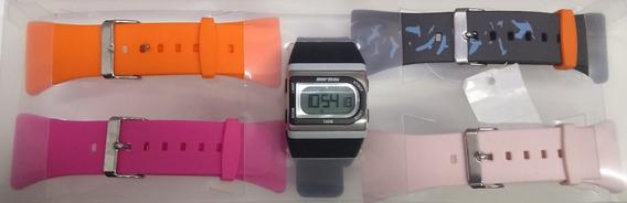 Relógio Mormaii Troca Pulseiras Original Garantia Acquarela