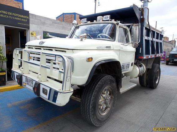 Volquetas Ford B600