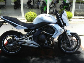 Kawasaki Er 6n Er6n 2011 Branca Gasolina