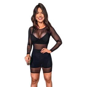 53c84834f955 Vestido Tule Transparente - Vestidos Femeninos com o Melhores Preços ...