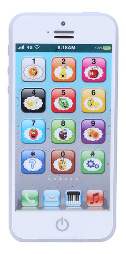Baby English Learning Machine Music Luz Touch Screen