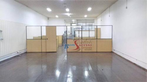 Imagem 1 de 13 de Salão Para Alugar, 375 M² Por R$ 10.000,00/mês - Tatuapé - São Paulo/sp - Sl0150