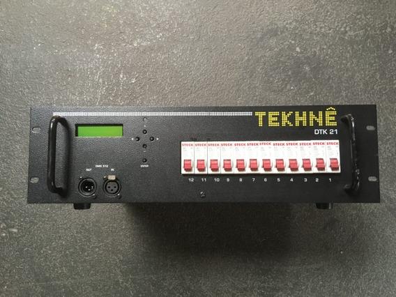 Rack Dimmer Com Display Digital Tekhne Dtk-21