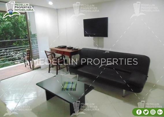 Furnished Apartment For Rental Medellín Cód: 4480