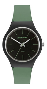 Relógio Mormaii Feminino Mo2035jv/8v Analogico Verde Oferta