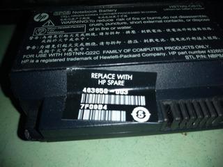 Batería Hp Tx 2 463650 003