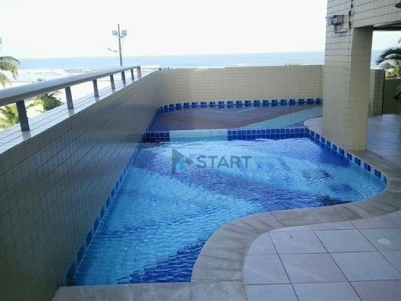 Excelente Apartamento De Frente Para O Mar, Venda Ou Locação Com 88 M² Por R$ 430.000,00 - Vila Guilhermina - Praia Grande/sp - Ap6690