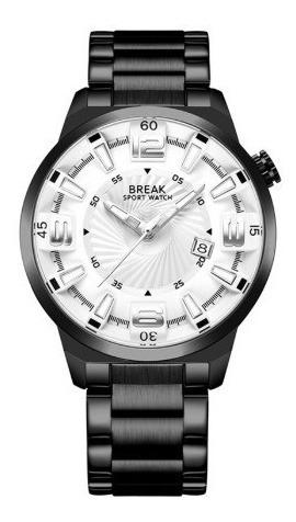Reloj Elegante Caballero Metálico Break