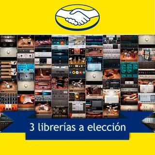 3 Librerías A Elección Para Kontakt / Pc Y Mac