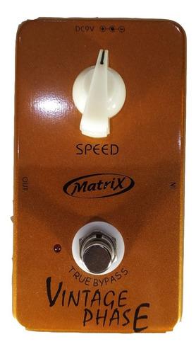 Imagen 1 de 7 de Pedal Phase Simil Joyo Gf-06  Vintage Matrix Guitarra