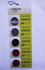 Bateria Moeda 2032 3v Com 5 Unidades