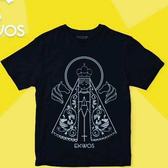 Camiseta Ekwos Infantil 6 Anos 100% Orig
