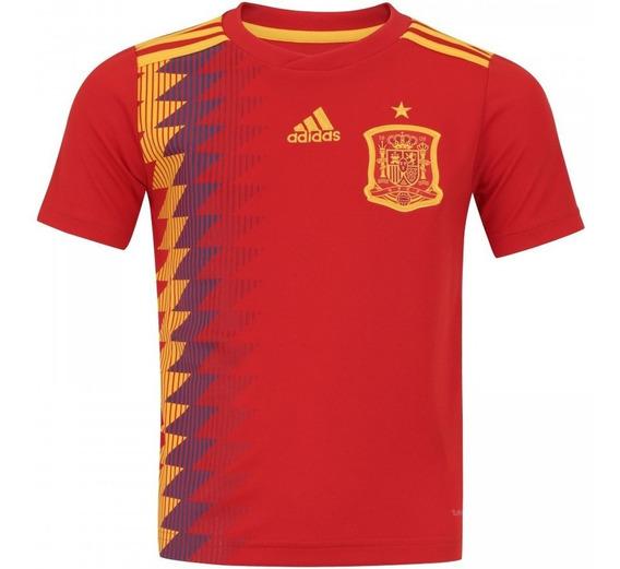 Camisa Espanha Oficial Seleção Espanhola 2018 Pronta Entrega