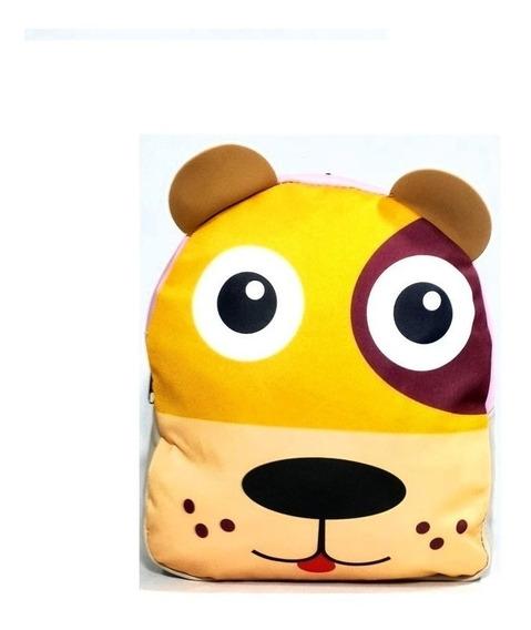 Mochila Infantil Modelos Clasico Zoo Animales 2019 Envios!!