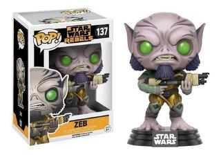 Funko Pop Star Wars Rebels Zeb #137