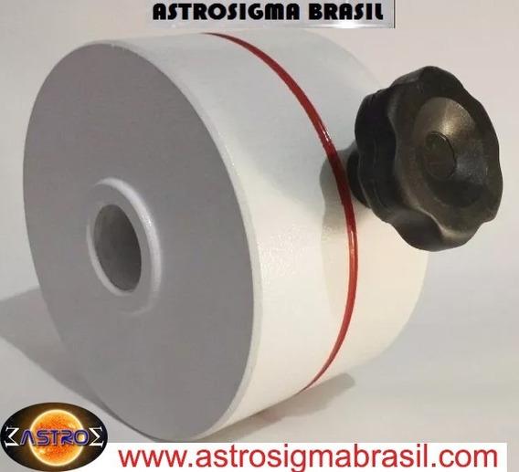 Fabricação Contrapeso 5 Kg Telescópio Astrosigma Brasil 1.0