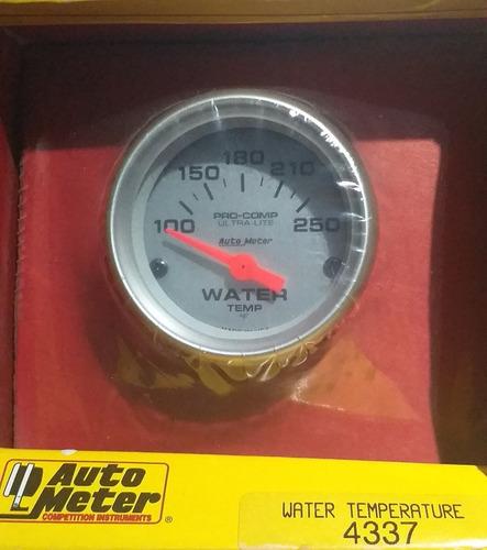 Autometer 4337 Pro Comp Reloj Temperatura Electrico 2  Jdm