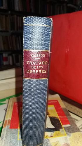 Tratado De Los Deberes De Ciceron