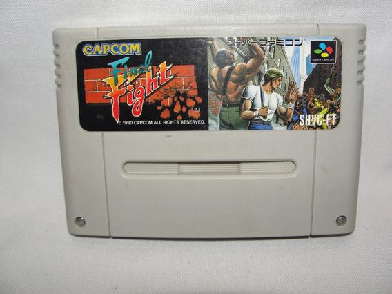 Cartucho Final Fighter Capcom Super Famicom