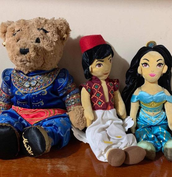 Aladdin Broadway Lote Pelúciais Originais Com Etiqueta