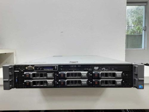 Servidor Dell Poweredge R710 Xeon 5645 8gb Ram Garantia Ler