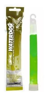 Pack X 10 Luz Quimica Pesca Waterdog 15 Cm 10 Hs Duracion