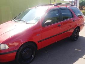 Palio Weekend 97 1.5 Vermelho - Fiat