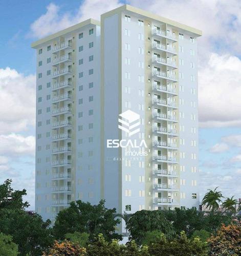 Apartamento Com 3 Quartos À Venda, 93 M² , Área De Lazer, Financia - Parangaba - Fortaleza/ce - Ap1321