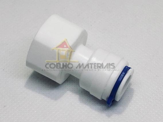 Conector Emenda Engate Rap Bebedouro 10mm X 1/2 Rosca Femea