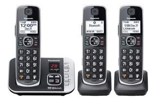 Teléfono Inalámbrico Panasonic Kx-tge663b Bluetooth Dect 6.0