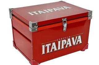 Caixa Térmica 90 Litros ( Itaipava Vermelha )