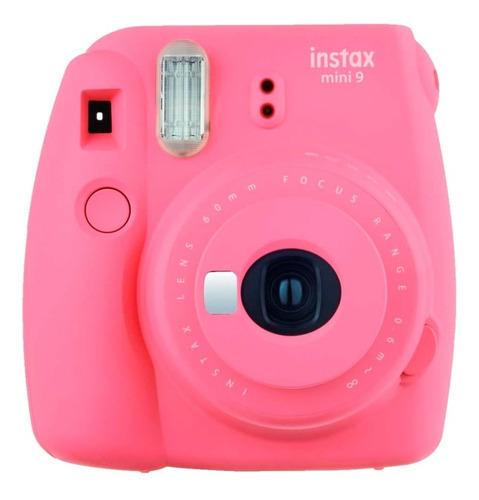Imagen 1 de 7 de Cámara Instantánea Fujifilm Instax Mini 9 Flash Rosada Nnet