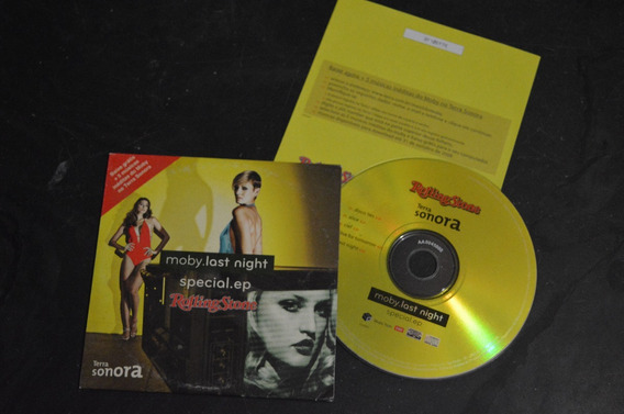 Moby Last Night Special Ep Rolling Stone Magazine Cd