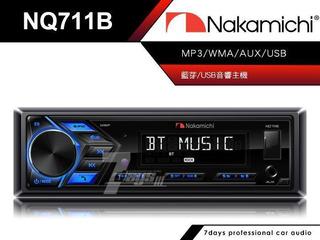 Reproductor Nakamichi Nq711b, Radio, Usb Bluetooth Auxiliar