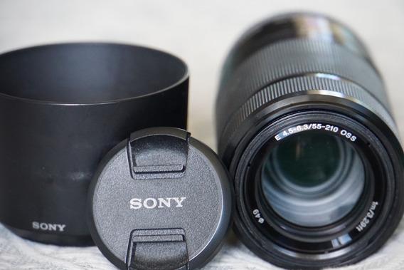 Lente Sony Sel 55-210mm Oss