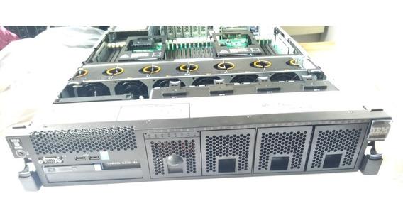 Servidor System X3750 M4 Octa Core Xeon E5-4620 V2 64g Ram