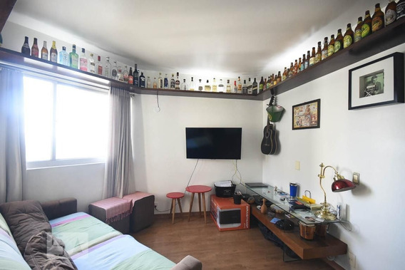 Apartamento No 14º Andar Mobiliado Com 2 Dormitórios E 2 Garagens - Id: 892932496 - 232496